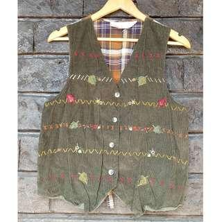 Printed Vest (Casual | Sleeveless | Checkered)