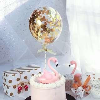 蛋糕裝飾氣球 Cake decorating Ballon 連吹氣筒