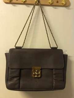 Chloe Elsie bag dark brown colour