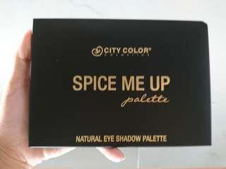 City Color Spice Me Up Eyeshadow (NEW VERSION) MURAH
