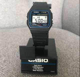 Casio unisex watch F91W-1
