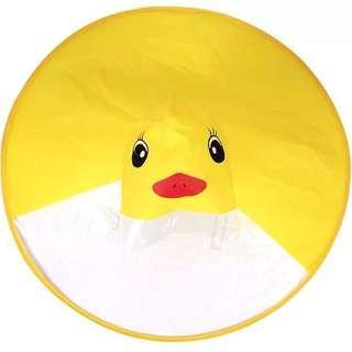 抖音同款黃色小鴨雨衣