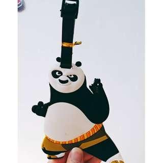 【現貨】出國/上學必備 卡通行李包包掛牌 迪士尼 功夫熊貓 行李箱 名牌