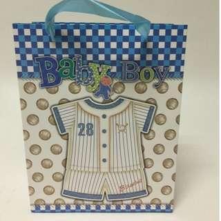 Party goodie bag Gift bag Paper bag (Baby boy Baby girl)