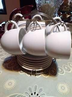 Coffee set bahan keramik