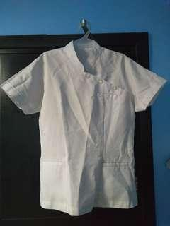 Plain White Uniform