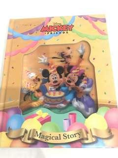 Disney book : Mickey and his friends