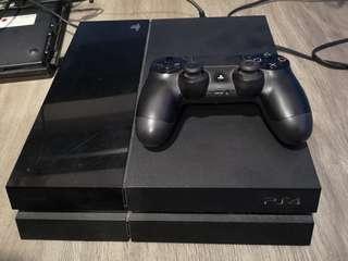 PS4 CUH-1006A Black 500GB