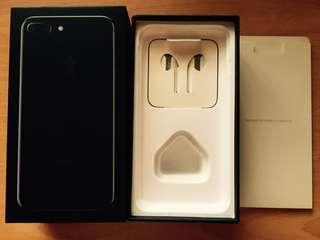 (Box Only) iPhone7 Plus 128GB Jet Black