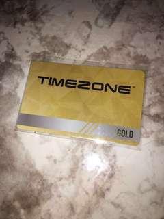 Timezone Gold Card (Unregistered)
