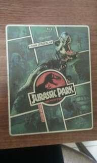 Blu Ray limited edition steelbook Jurassic Park