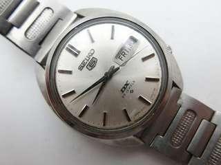 🚚 日本 SEIKO 精工 自動上鍊 機械錶 盾牌5號 日星期顯示  全原裝 商品如圖
