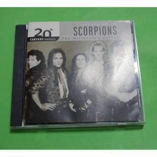 CD SCORPIONS: 20TH CENTURY MASTERS . THE MILLENIUM COLLECTION . THE BEST OF SCORPIONS ALBUM (2001) GERMANY HARD ROCK