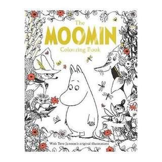 Moomin Coloring Book by Tove Jansson