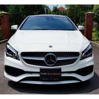 NEW Mercedes-Benz CLA-Class CLA180 AMG Line facelift @ $141,800 only