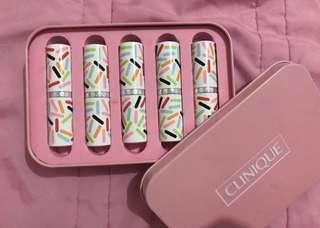 RUSH SALE: CLINIQUE BUNDLE: CANDY STORE SET (Never used; originally Php 4,230) + Used ONCE blush (berry pop)