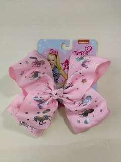JoJo Siwa pink unicorn bow