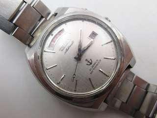 🚚 日本 TELUX 鐵力士 自動上鍊 機械錶 21石 日星期顯示 商品如圖