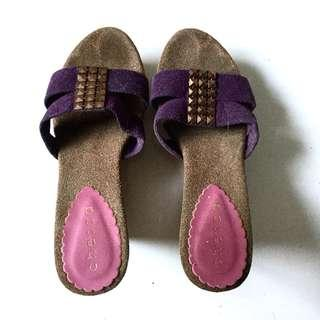 PLOVED: Purple Wedge Shoes