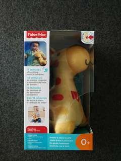 Fisher price soothe & glow giraffe