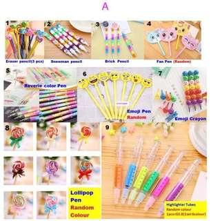 🚚 Stationery from $0.5