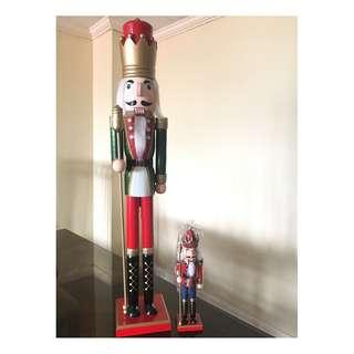 Giant 3-Feet Nutcracker Christmas Guard Soldier