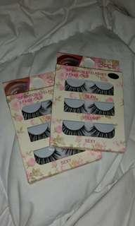 6 x False Lashes