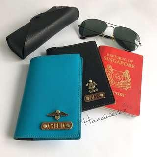 Travel Passport Cover Organizer Card Customized Holiday Wallet Office Personalized School Gift