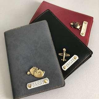 Personalised/Customized Passport Holders/Covers, Travel Organizers, Clutches, Wristlets, Card Holders, Laptop Sleeves/Cases, Pencil Cases, Keychains, Lanyards Holiday Travel Gift Present Office School