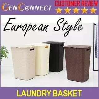 🚚 Laundry Basket with Lid 65 Litres Capacity