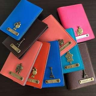 Customized / Personalized Passport Cover / Travel / Organizer / Gift / Handmade / Leather