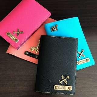 Personalised/Customized Passport Holders/Covers, Travel Organizers, Clutches, Wristlets, Card Holders, Laptop Sleeves/Cases, Pencil Cases, Keychains, Lanyards