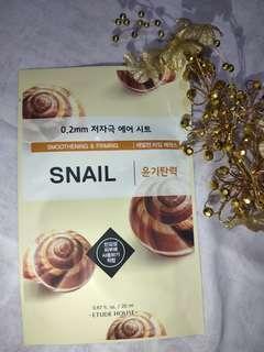 Masker Etude House - Snail