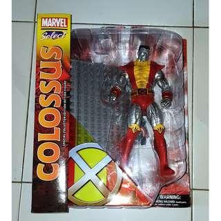 Marvel Select X-men Colossus Figure, MIB, No BAF, Fit Legends Scale