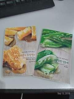 Nature Republic Aloe / Royal Jelly Sheet Mask