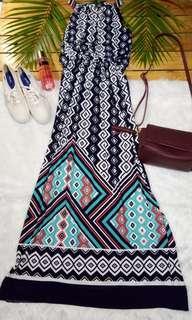 Branded Maxi Dress