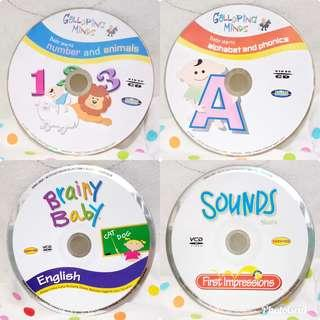 4 VCD Pengembangan Otak Bayi & Anak (ORI)