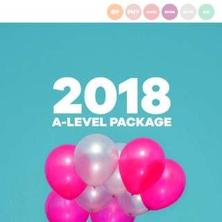 2018 A-Level Package #Next30