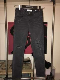 Jeans west ripped skinny jeans