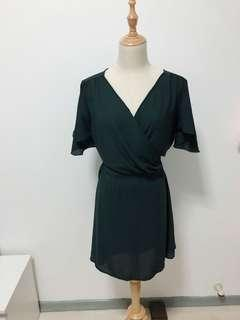 🚚 PROMO Emerald Green Kimono Dress