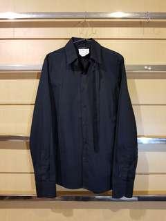 SISLEY Unisex Double Collar Style Long-sleeved Shirt