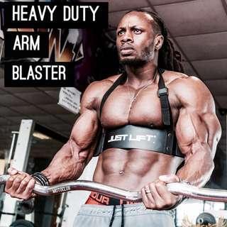 HEAVY DUTY BICEP BOMBER / ARM BLASTER | Biceps Mass & Peak Training