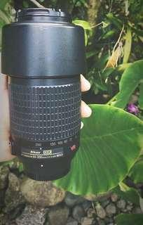 Nikkor 200mm lens only