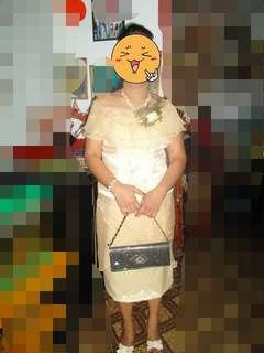 Mother of the bride or groom gown (pwede din ninang gown)