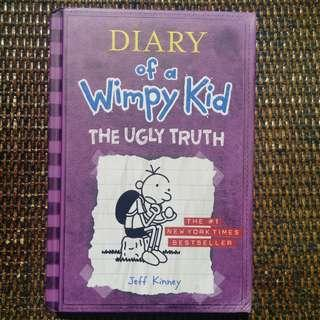 Diary of a Wimpy Kid - Ugly Truth by Jeff Kinney