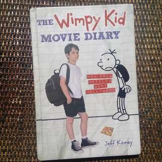 The Wimpy Kid Movie Diary by Jeff Kinney [U]