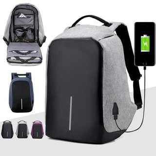 🆒🆓 Anti-Theft USB charing Backpack
