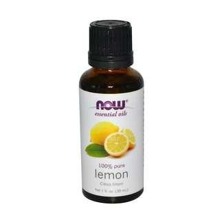 Now (USA) 100% Pure Lemon Essential Oil 30ml