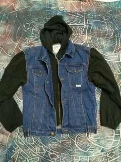 Vintage Hoodie jeans jacket