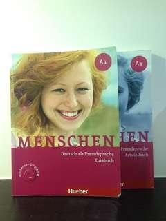 Menschen A1 Kursbuch+Arbeitsbuch 課本+練習本